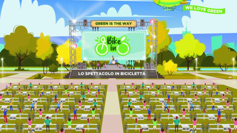 La musica apre al drive-in: con Bike-In il concerto lo segui in bicicletta