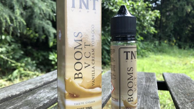 TNT Vape: il Booms 'incontra' la vaniglia