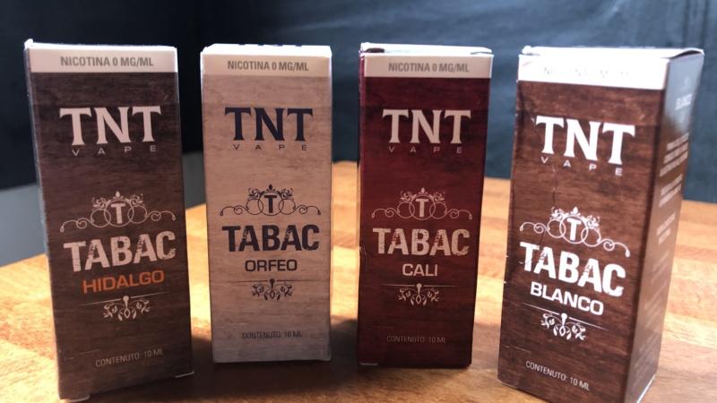 TNT Vape e la linea Tabac: quattro proposte per chi ama i 'tabaccosi aromatizzati'