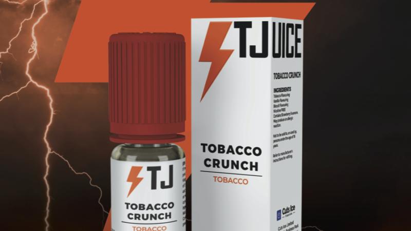 Tobacco Crunch, Blue Bomb e le grandi novità per il 2021 di T-Juice