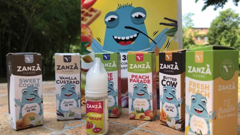 Vaplo torna nei negozi con Zanzà: una nuova e golosa linea di 35 aromi