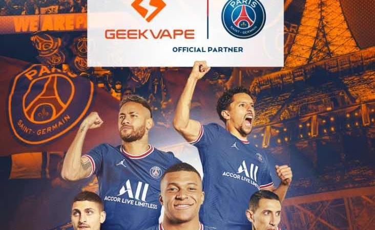 Accordo storico per Geekvape: il brand di Shenzen diventa partner ufficiale del Paris Saint-Germain