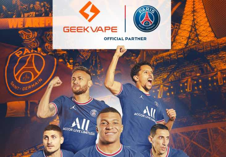 Geekvape e Paris Saint-Germain