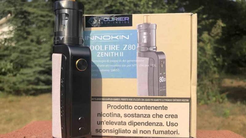 Il ritorno della Coolfire: Innokin lancia il kit Z80 con il nuovo Zenith II (VIDEO)